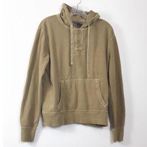 Polo Ralph Lauren Woven Hoodie Sweatshirt M
